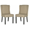 Safavieh Hayden Wingback Chair, Grey