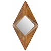 Safavieh Diamond Mirror, Burnt Copper W/Clear P/Coat