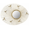 Safavieh Follow The Sun Mirror, Antique Gold