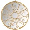 Austin Filigree Mirror, Gold