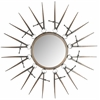 Compass Point Mirror, Antique Copper