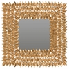 Safavieh Borghese Mirror, Antique Gold