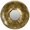 Mayan Gold Mirror, Antique Gold