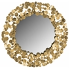 Safavieh Jocelyn Coin Mirror, Gold
