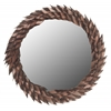 Safavieh Mayra Leaf Mirror, Copper