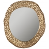 Ursula Mirror, Antique Brass