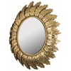 Safavieh Paradox Leaf Mirror, Gold