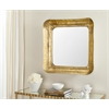 Geri Mirror, Gold / White