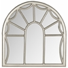 Palladian Mirror, Pewter