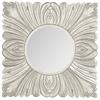 Safavieh Acanthus Mirror, Pewter