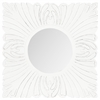 Acanthus Mirror, White