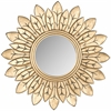 Safavieh Sun King Mirror, Gold