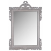 Safavieh Pedimint Mirror, Grey