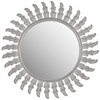 Inca Sun Mirror, Grey