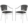 Safavieh Melita Arm Chair, Black