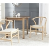 Aramis Dining Chair, Natural & Ivory