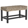 Safavieh Omari Wicker Bench, Natural