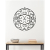 Safavieh Tea Light Wall Décor, Black Powder Coated
