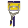 IRWIN 11R Vise Grip Fast Release Locking C-Clamp, Regular Tips