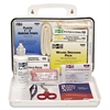 ANSI Plus #25 Weatherproof First Aid Kit, 143 Pieces, Plastic Case