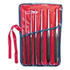 "7-Piece Drift Punch Set, 3/32 ""to 3/8"", Alloy Steel"
