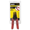 "Klein Tools Wire Stripper/Cutter, 16-26 AWG, 6 1/4"" Tool Length, Red Handle"
