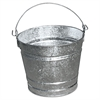 Magnolia Brush Galvanized Pail, 10 Qt, Steel