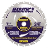 Marathon Circular Saw Blade, 7 1/4in