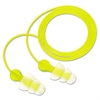Tri-Flange Earplugs, Corded, NRR 26