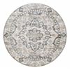 Radici CASTLE 6'7 ROUND 3790 Rug, Ivory