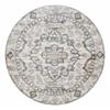 CASTLE 6'7 ROUND 3790 Rug, Ivory