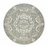 Radici CASTLE 6'7 ROUND 3790 Rug, Grey