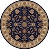 Radici COMO 8' ROUND 1592 Rug, Blue