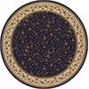 Radici COMO 8' ROUND 1593 Rug, Blue