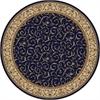 COMO 8' ROUND 1599 Rug, Blue