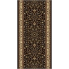 Radici NOBLE 2'2 X 8' 1318 Rug, Black