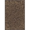PISA 2'2 X 7'7 1845 Rug, Brown