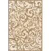 PISA 7'10 X 10'6 1845 Rug, Ivory