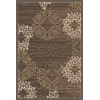 PISA 2'2 X 7'7 3471 Rug, Brown