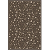 PISA 7'10 X 10'6 6674 Rug, Brown