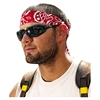 Chill-Its 6700/6705 Bandana/Headband, One Size, Red Western