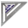 "Empire Magnum Heavy-Duty Rafter Square, 12"" Edge, 1/8"" Graduations, Aluminum"