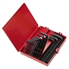 18-Piece SAE Short-Arm Hex Key Set