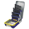 IRWIN 29-Piece Black Oxide Industrial Drill Bit Set, w/Case