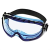 KIMBERLY-CLARK PROFESSIONAL JACKSON SAFETY V80 Monogoggle XTR, Blue Frame, Clear Lens