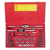HANSON Tap & Die Set, Steel, 53 Pieces