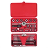 SAE Machine-Screw/Fractional Tap & Die Set, 41-Piece