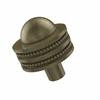 Allied Brass 101AD-ABR 1-1/2 Inch Cabinet Knob, Antique Brass