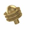 Allied Brass 101AD-UNL 1-1/2 Inch Cabinet Knob, Unlacquered Brass