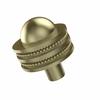 Allied Brass 101AD-SBR 1-1/2 Inch Cabinet Knob, Satin Brass